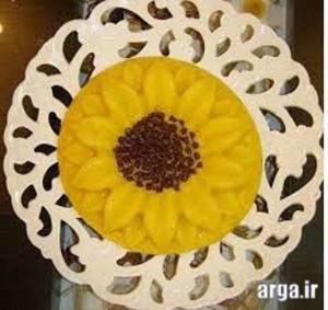 باحال ترین تزئین شله زرد