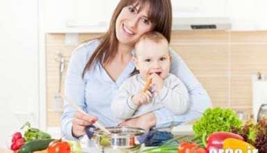 تغذیه دوران شیردهی