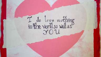 کارت پستال عاشقانه قلب