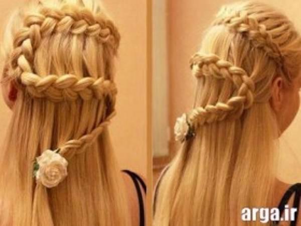 مئل های بافت موی بلند