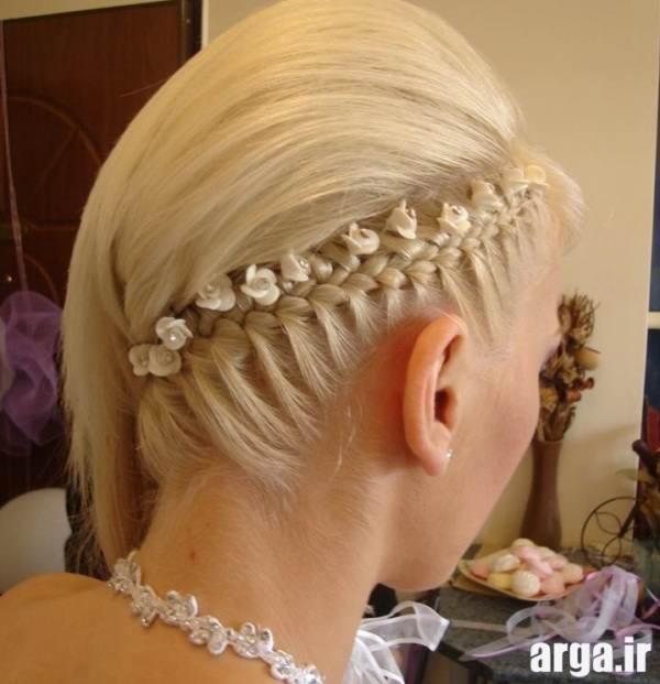 مدل موی بافته شده