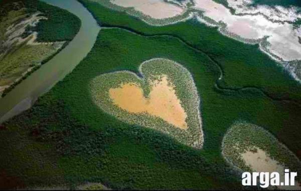 جزیره قلب در عکس های مرداد