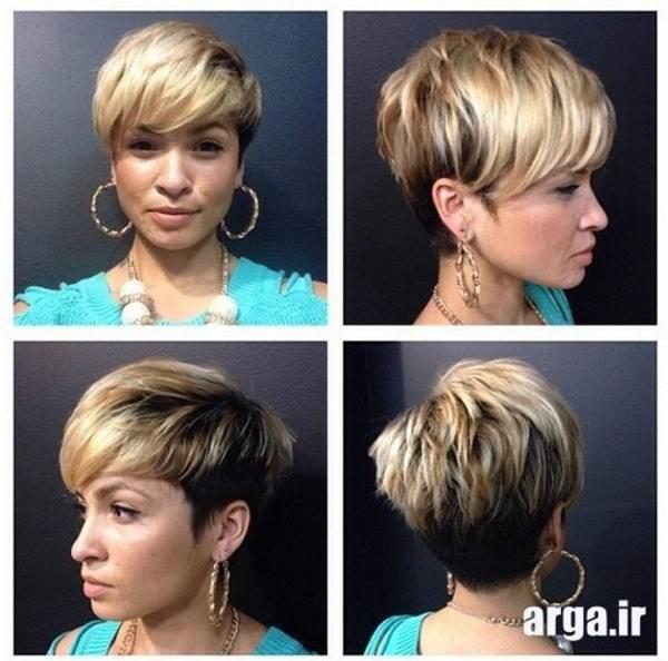 عالی ترین مدل مو کوتاه