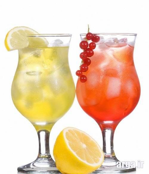 نوشیدنی سرد ساده باحال