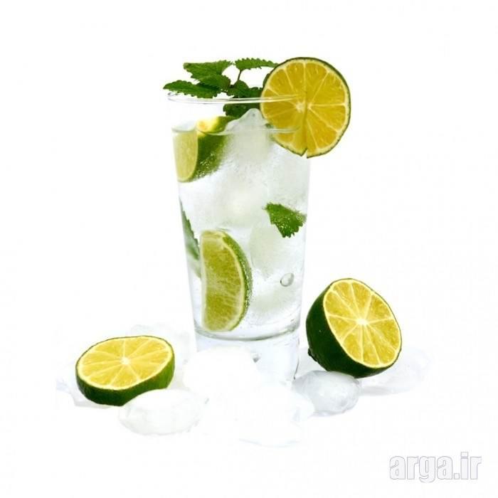 نوشیدنی سرد ساده لیمو
