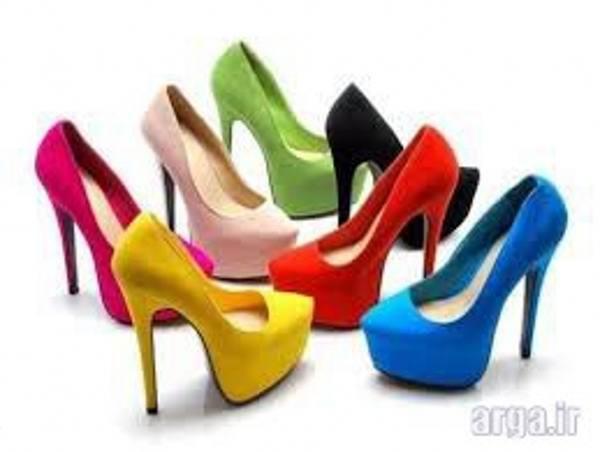 کفش پاشنه بلند ساده