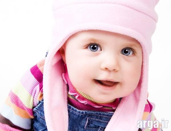 کلاه صورتی کودک