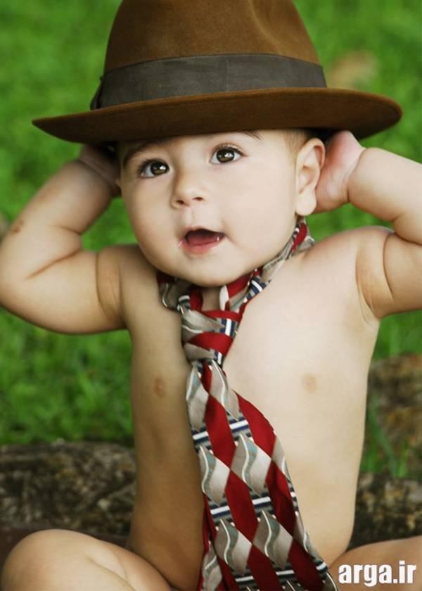 کودک بامزه و خوشتیپ