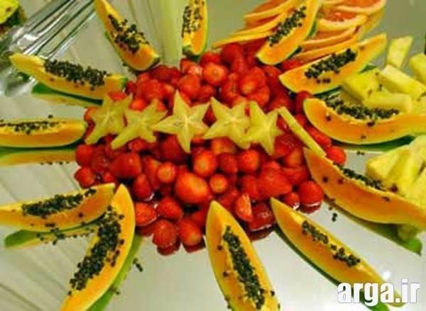 تزیینات میوه