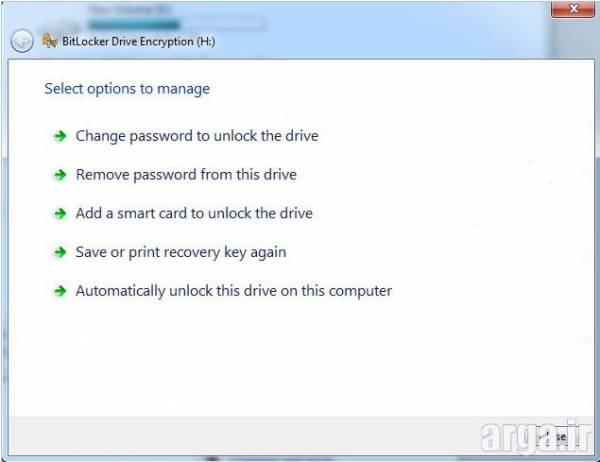 حذف کردن رمز فلش