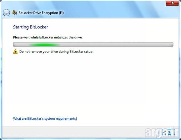 مرحله دوم رمزگذاری روی فلش مموری