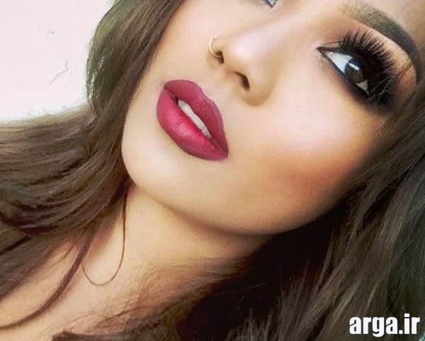 مدل آرایش زیبای گون ها