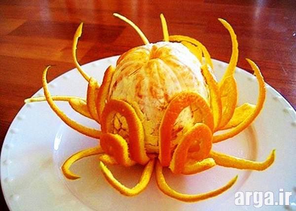 میوه آرایی پرتقال