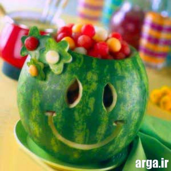 میوه آرایی هندوانه