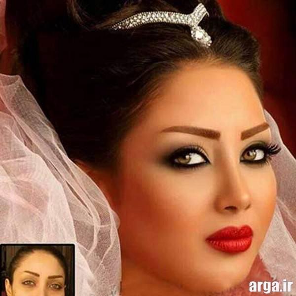 مدرن ترین آرایش عروس