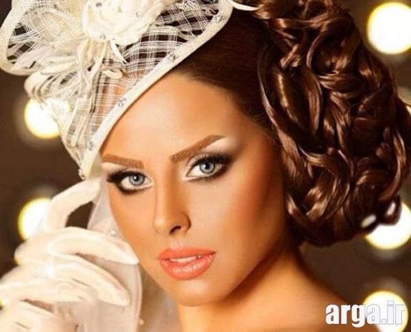 جدید ترین مدل های آرایش عروس
