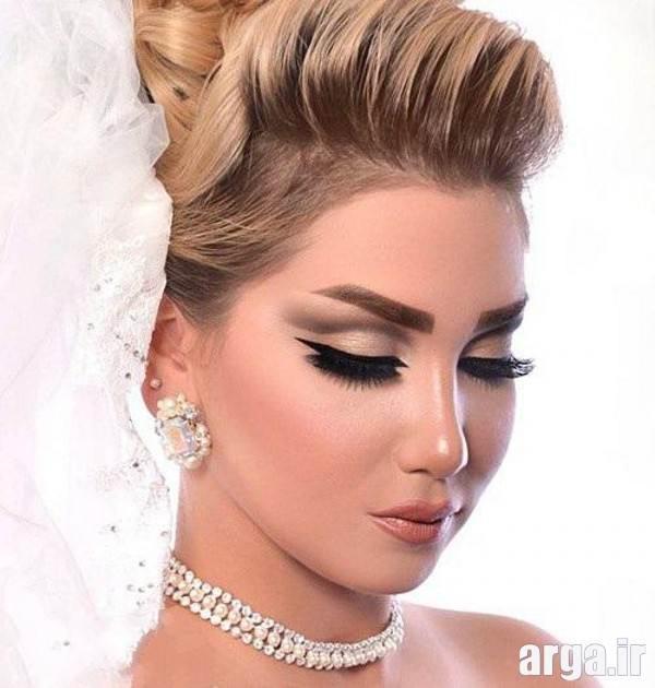 جدید ترین مدل های ارایش صورت شیک و جذاب عروس