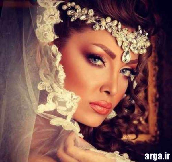 مدل آرایش عروس مدرن