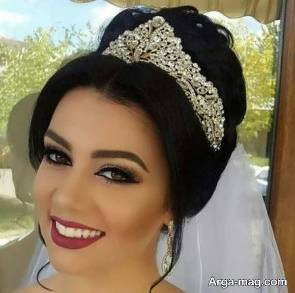تاج عروس شیک و زیبا