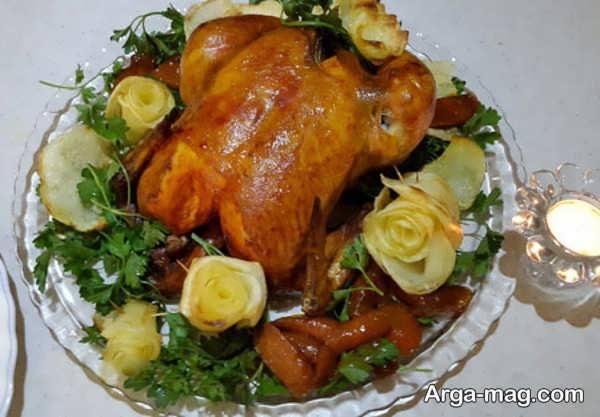 تزیینات مرغ زیبا