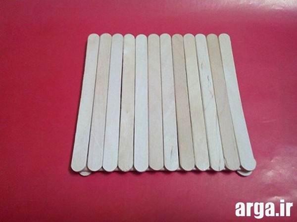 آموزش کاردستی با چوب