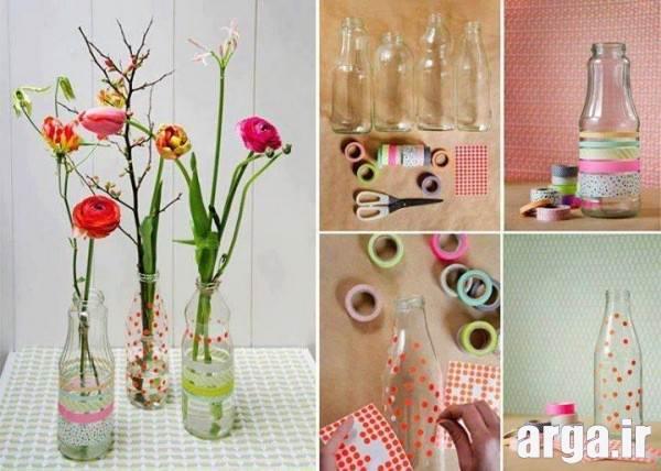 خلاقیت در ساخت گلدان