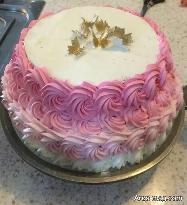 تزیین کیک تولد با طرح جذاب