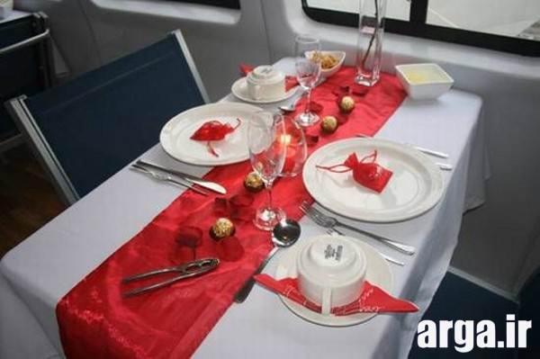 سفره آرایی میز غذا