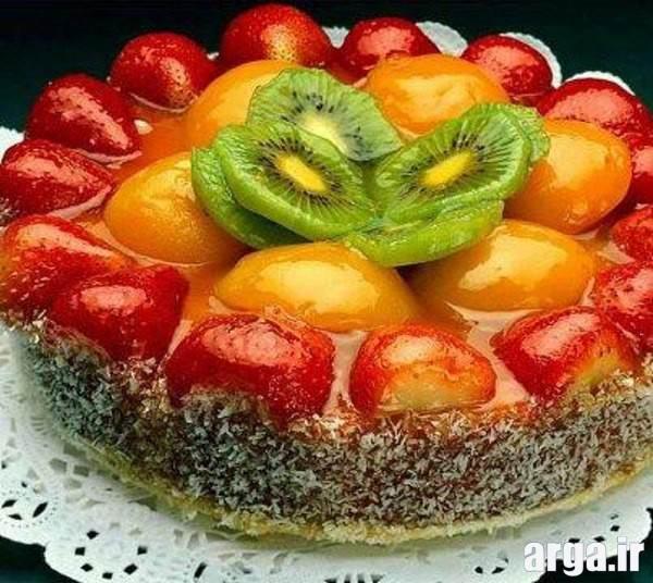 ژله میوه