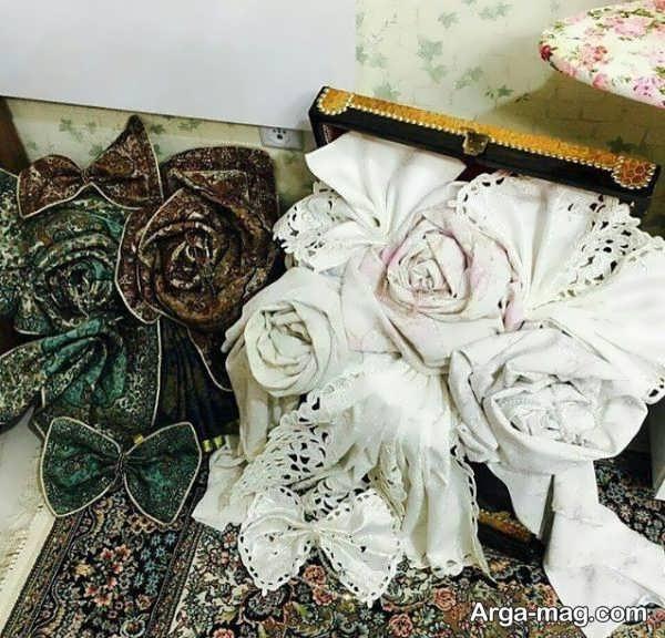 تزیینات زیبای جهیزیه عروس