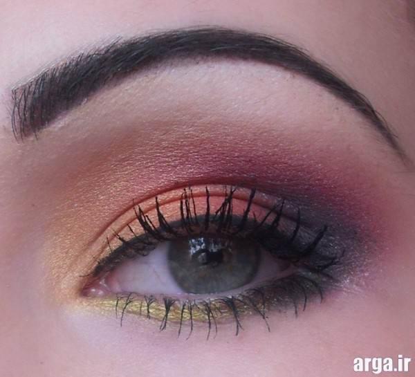 مدل های زیبای آرایش چشم جدید