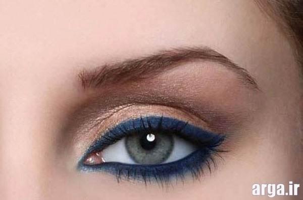 آرایش چشم اسپرت دخترانه