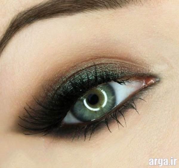 آرایش چشم مدرن دخترانه