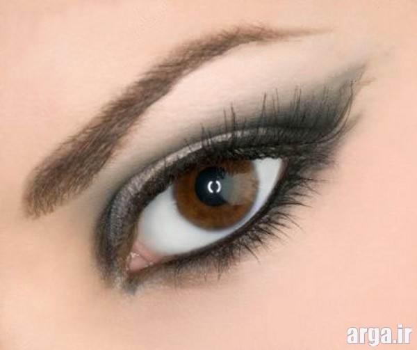 مدل آرایش چشم و ابروی دخترانه