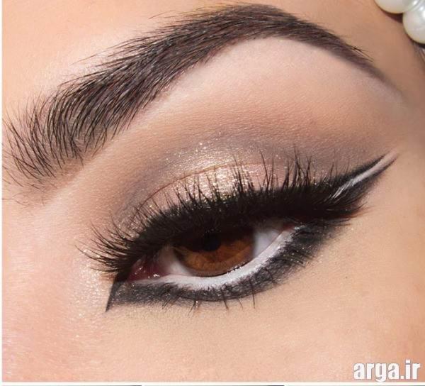 آرایش چشم و ابروی زیبا