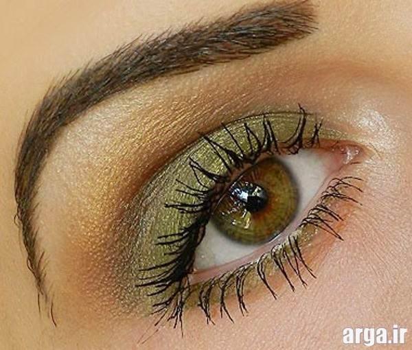 مدل آرایش چشم و آرایش ابرو