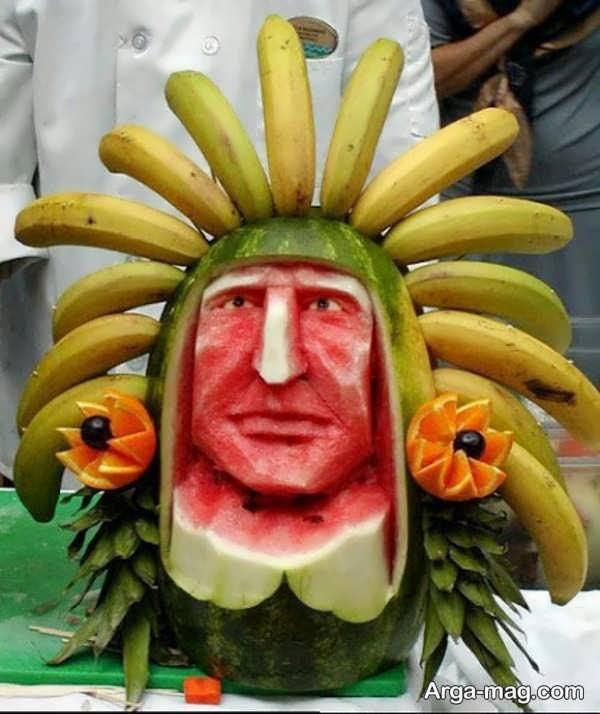 تزیین خلاقانه میوه