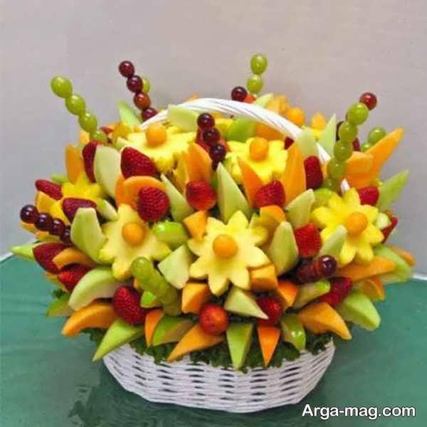 تزئینی زیبا برای میوه های یلدا