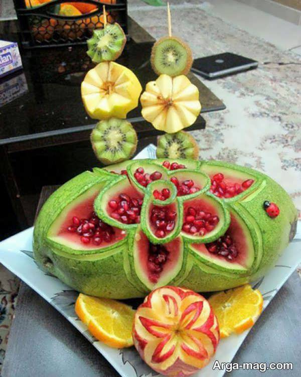 میوه آرایی و تزیینات شیک