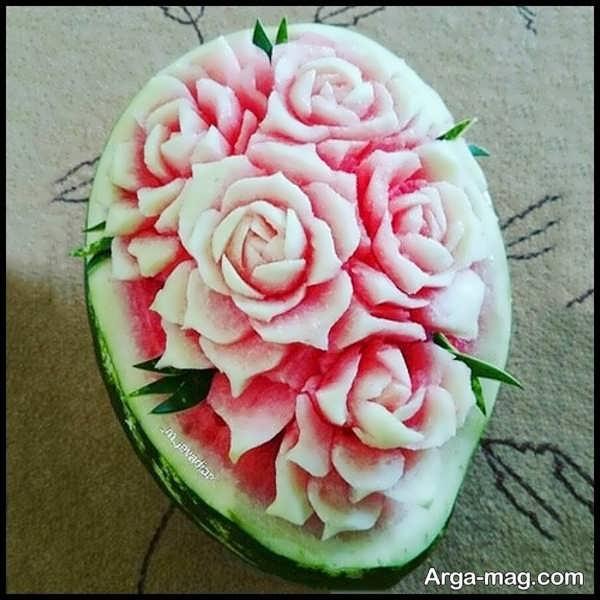 تزیین میوه هندوانه