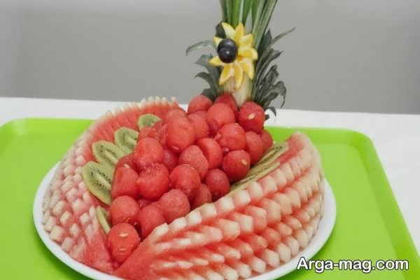 مدل تزئینات میوه