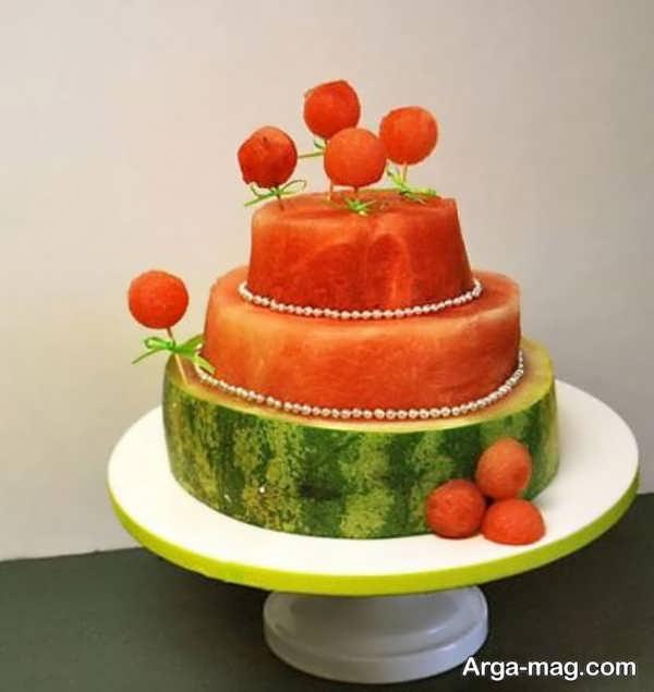 میوه ارایی و تزئین جذاب میوه