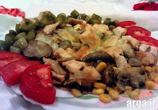 خوراک قارچ
