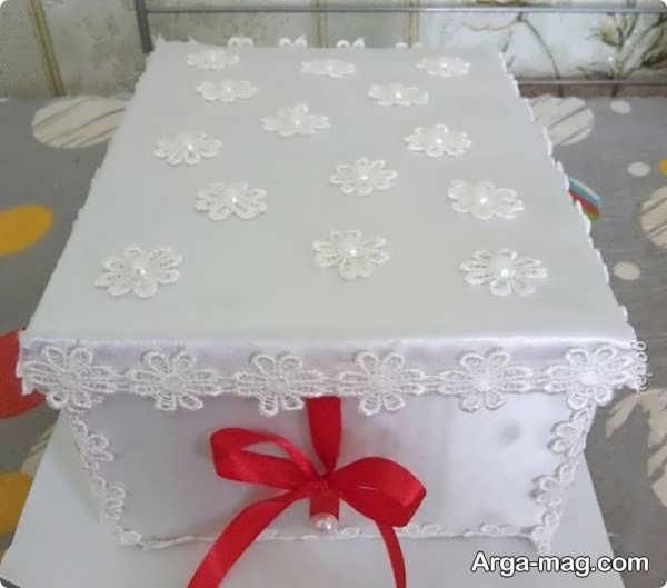 تزیینات جعبه کادو عروس