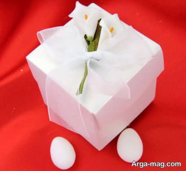 تزیینات برای جعبه کادو عروس