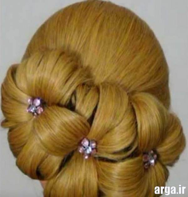 مدل موی جمع برای مو های کوتاه