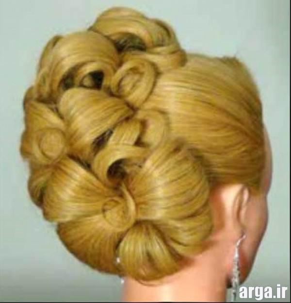 مدل موی جمع برای موهای کوتاه