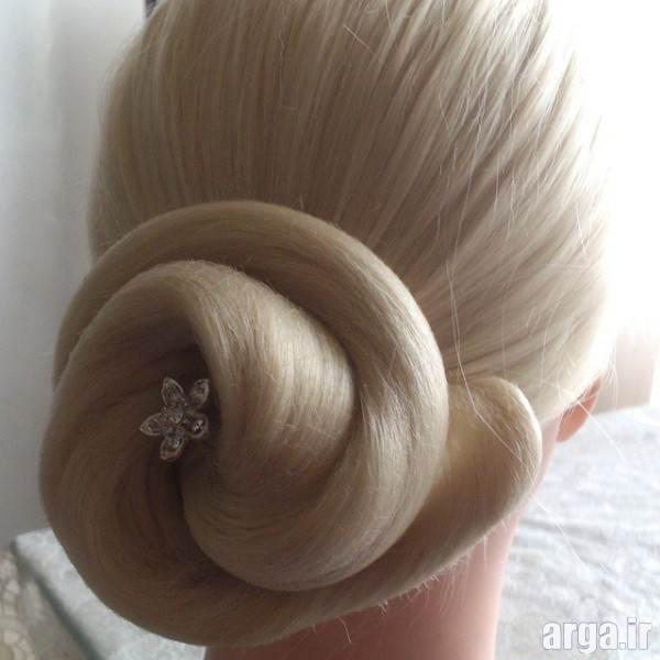 ارایش موی کوتاه مجلسی