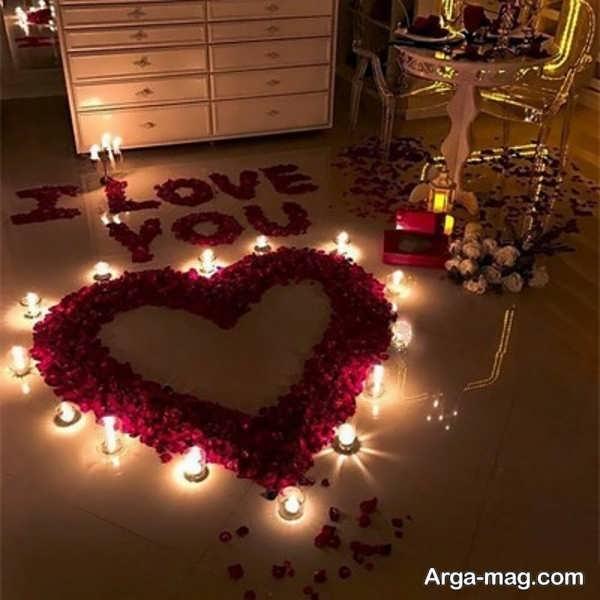 تصاویری از تزیینات خانه با شمع