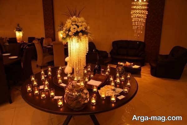 تزیینات رمانتیک منزل با شمع